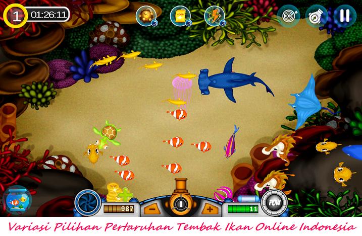 Variasi Pilihan Pertaruhan Tembak Ikan Online Indonesia